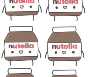 nutella, wallpaper, and cute image