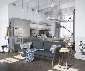 apartment, small space, and interior design image