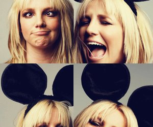 britney spears, britney, and mickey image