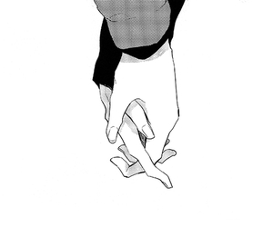 manga, hands, and couple image