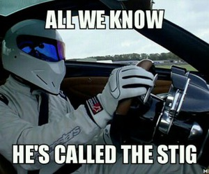 top gear and the stig image