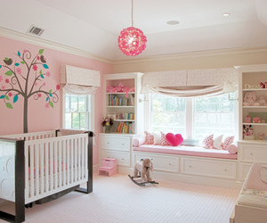 cute, baby, and bedroom image