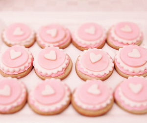 pink, food, and heart image