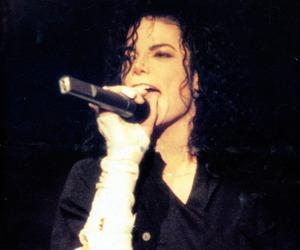 michael jackson, mj, and king of pop image