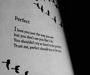 perfect and love image