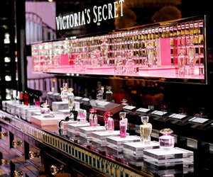 Victoria's Secret, pink, and perfume image