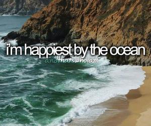 happy, ocean, and sea image