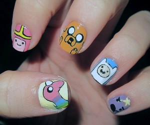 nails, adventure time, and cartoon image