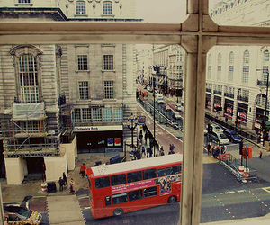 bus, street, and london image