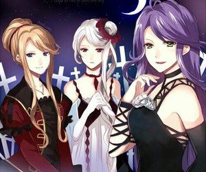 diabolik lovers, cordelia, and beatrix image
