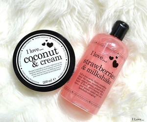 pink, cream, and coconut image