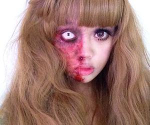 creepy cute, makeup, and circle lenses image
