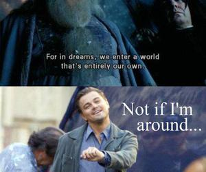 harry potter, inception, and funny image