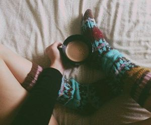 socks and coffee image