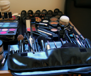 make up, makeup, and cosmetics image