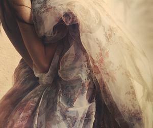 dress, woman, and beauty image