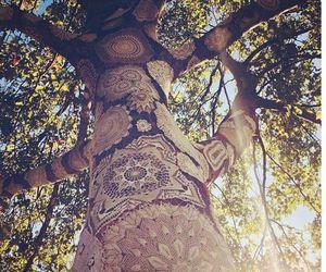 tree, nature, and art image