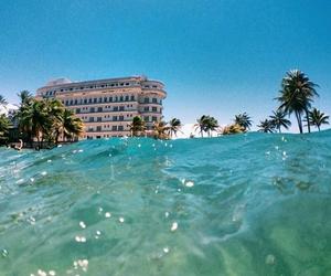 agua, beach, and beautiful image