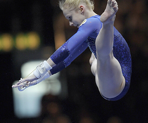 gymnastics, uneven bars, and anna dementyeva image