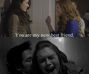 smile, allison argent, and lydia martin image