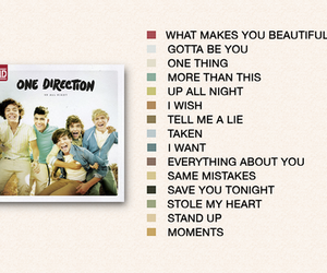 one direction, album, and up all night image