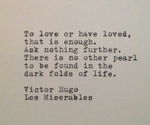 les miserables, love, and quotes image