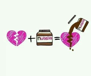 nutella, heart, and love image