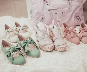 shoes, pastel, and style image