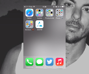 30stm, thirtysecondstomars, and iphone image