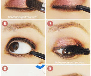 beauty, eyes, and makeuo image