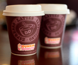coffee, dunkin donuts, and photography image