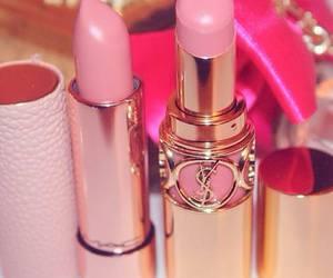 fashion, lipstick, and pink image