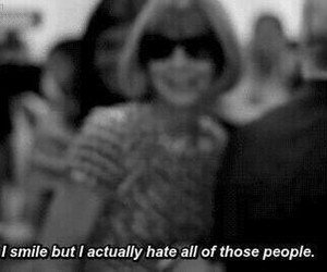 smile, hate, and people image