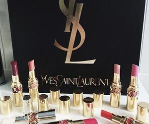 YSL, make up, and luxury image