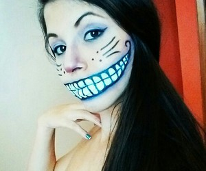 Halloween, make up, and ♥ image