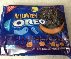 Halloween, oreo, and food image