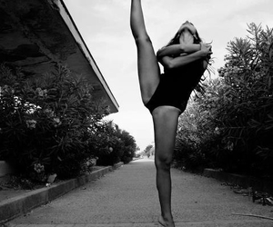 b&w, beautiful, and dance image