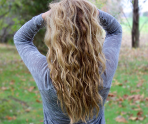autumn, blonde, and curly image