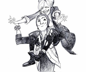 abigail, delsin, and cute image