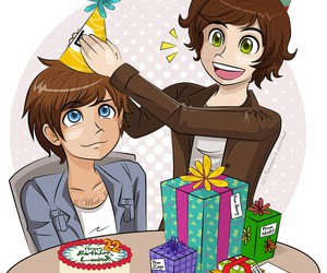 cute, louis tomlinson, and larry image