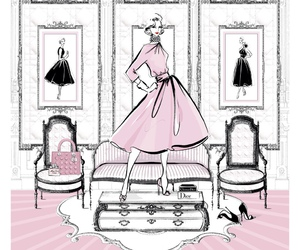 pastel, pink, and dior image
