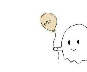 cute, boo, and ghost image