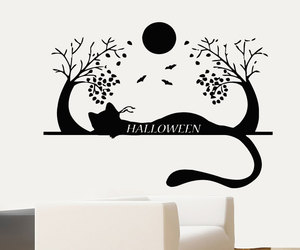cat, Halloween, and home decor image