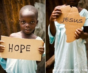 hope and africa image