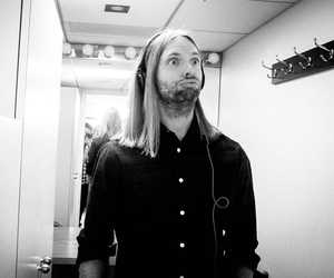 black and white, james, and maroon 5 image