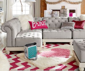 chevron, sofa, and couch image