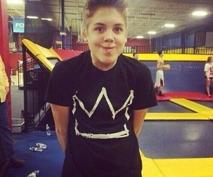 boy, matthew espinosa, and dinosaur image