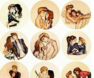 couple, Relationship, and together image