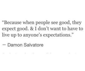 quotes, damon salvatore, and damon image