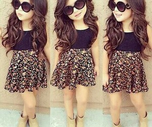 adorable, cute skirt, and sunglasses image